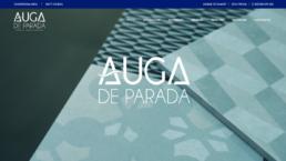 Diseño web Auga de Parada